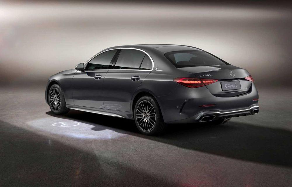 Mercedes-Benz Clasa C L: versiune cu ampatament mărit, disponibilă doar pe piața din China - Poza 6