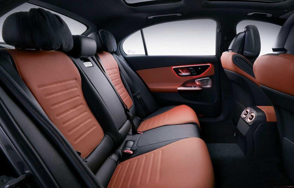 Mercedes-Benz Clasa C L: versiune cu ampatament mărit, disponibilă doar pe piața din China - Poza 8