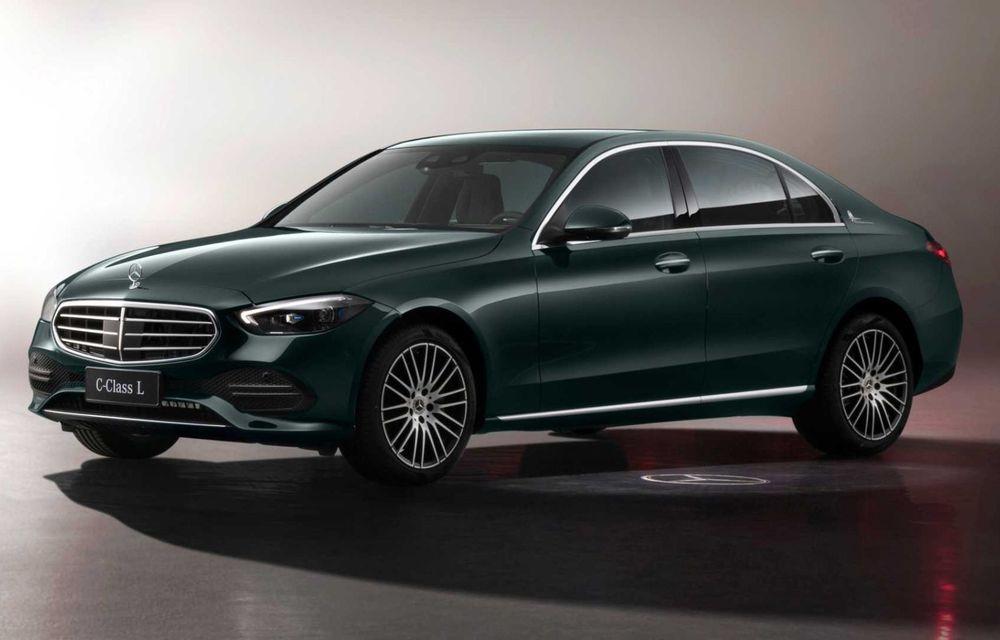 Mercedes-Benz Clasa C L: versiune cu ampatament mărit, disponibilă doar pe piața din China - Poza 1