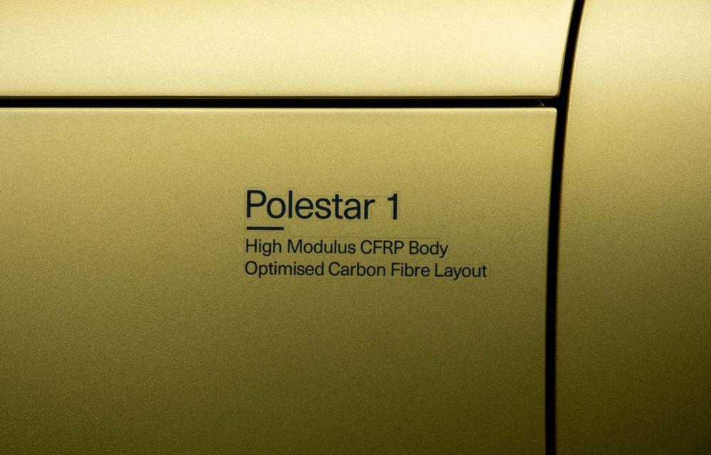 Polestar 1 primește o ediție specială de adio: se numește Gold și va fi produsă în doar 25 de exemplare - Poza 7