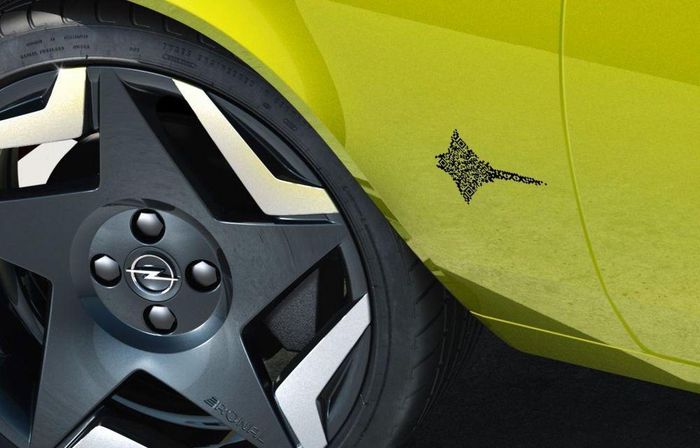 Opel dezvăluie primele imagini cu prototipul electric Manta Gse ElektroMOD: prezentare în 19 mai - Poza 9