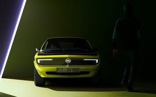 Opel dezvăluie primele imagini cu prototipul electric Manta Gse ElektroMOD: prezentare în 19 mai