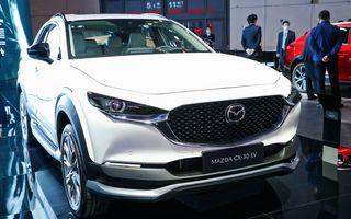 Mazda lansează noul CX-30 EV. SUV-ul cu zero emisii este disponibil doar în China