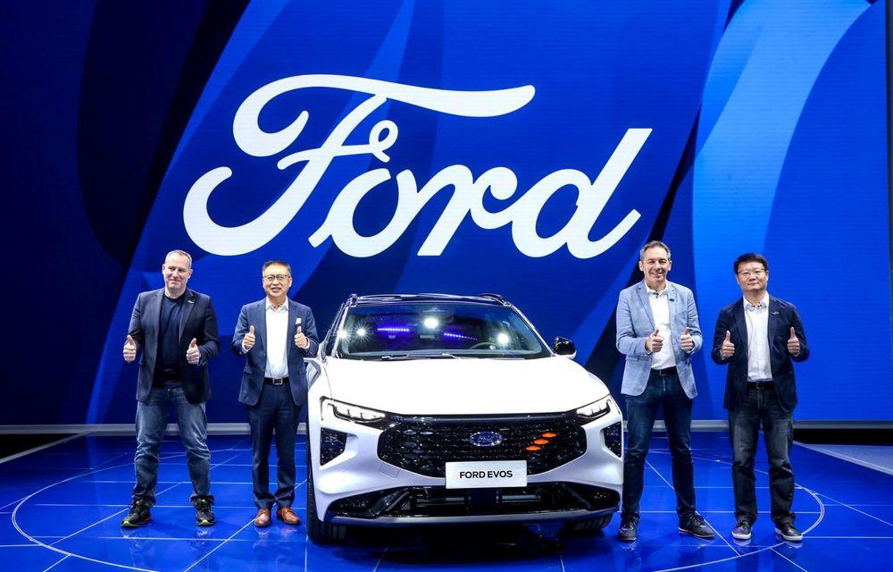 Ford a prezentat noul Evos: display uriaș de 43 inch și tehnologie de condus semi-autonom de nivel 2 - Poza 3