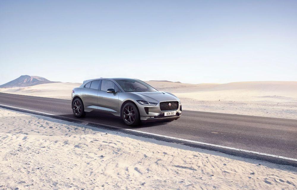 Jaguar anunță o nouă variantă Black pentru SUV-ul electric I-Pace - Poza 1
