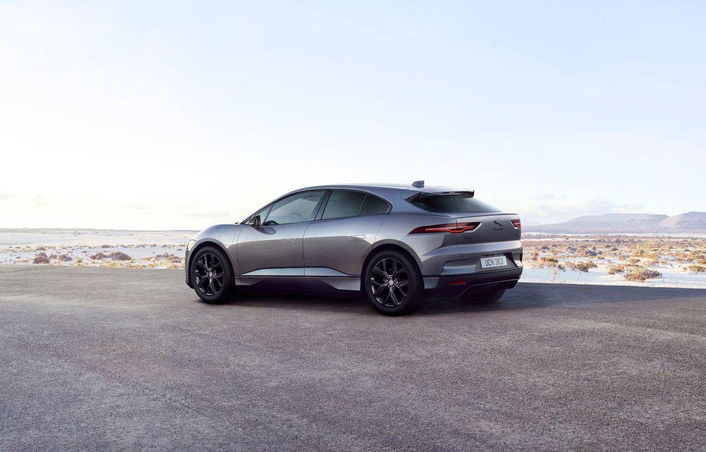 Jaguar anunță o nouă variantă Black pentru SUV-ul electric I-Pace - Poza 3