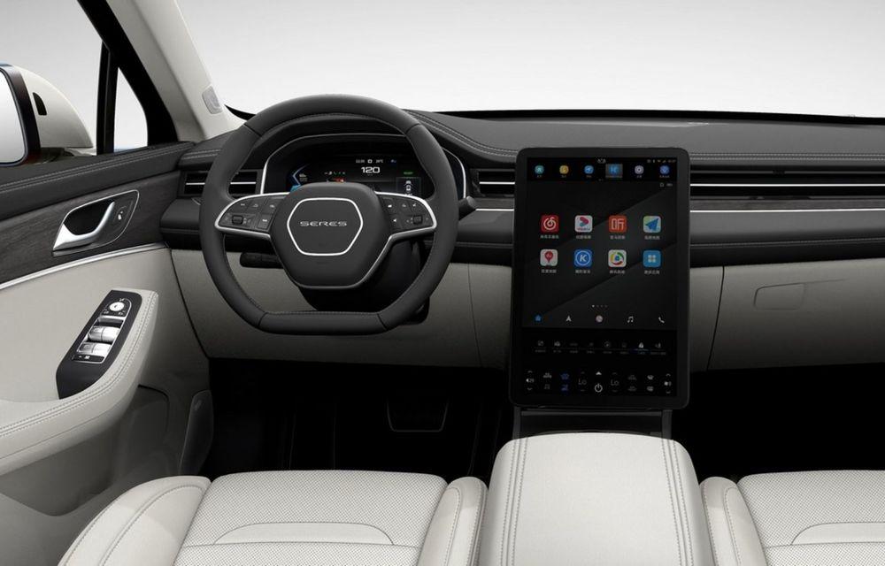 Huawei a lansat primul său automobil. SF5 este un SUV cu 551 CP și 180 km autonomie în modul electric - Poza 12