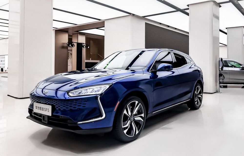 Huawei a lansat primul său automobil. SF5 este un SUV cu 551 CP și 180 km autonomie în modul electric - Poza 3