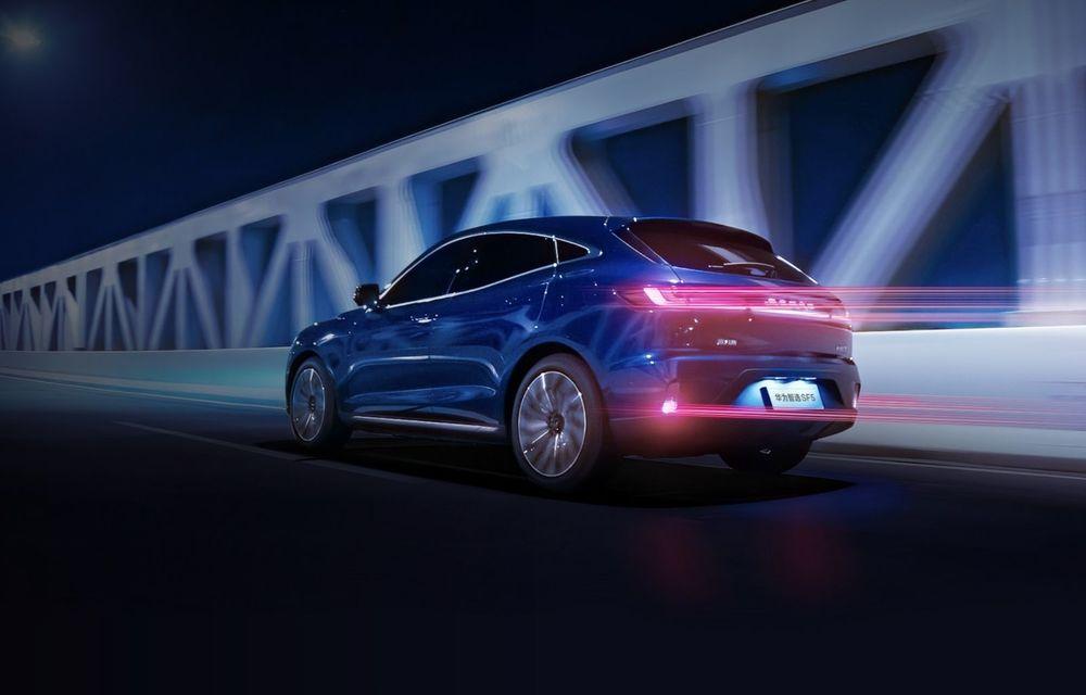 Huawei a lansat primul său automobil. SF5 este un SUV cu 551 CP și 180 km autonomie în modul electric - Poza 5