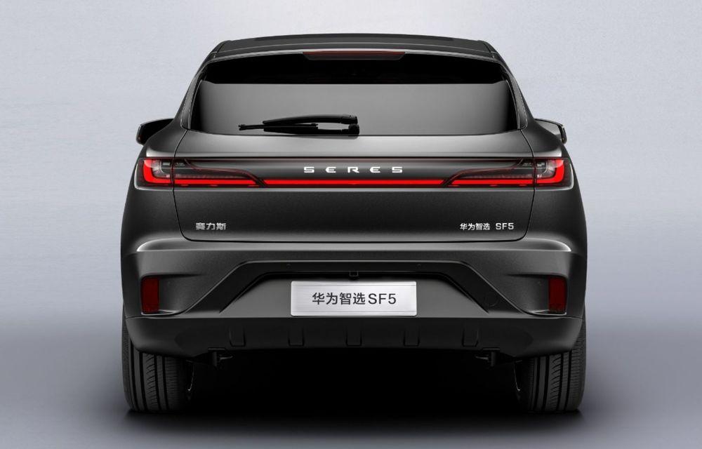 Huawei a lansat primul său automobil. SF5 este un SUV cu 551 CP și 180 km autonomie în modul electric - Poza 8