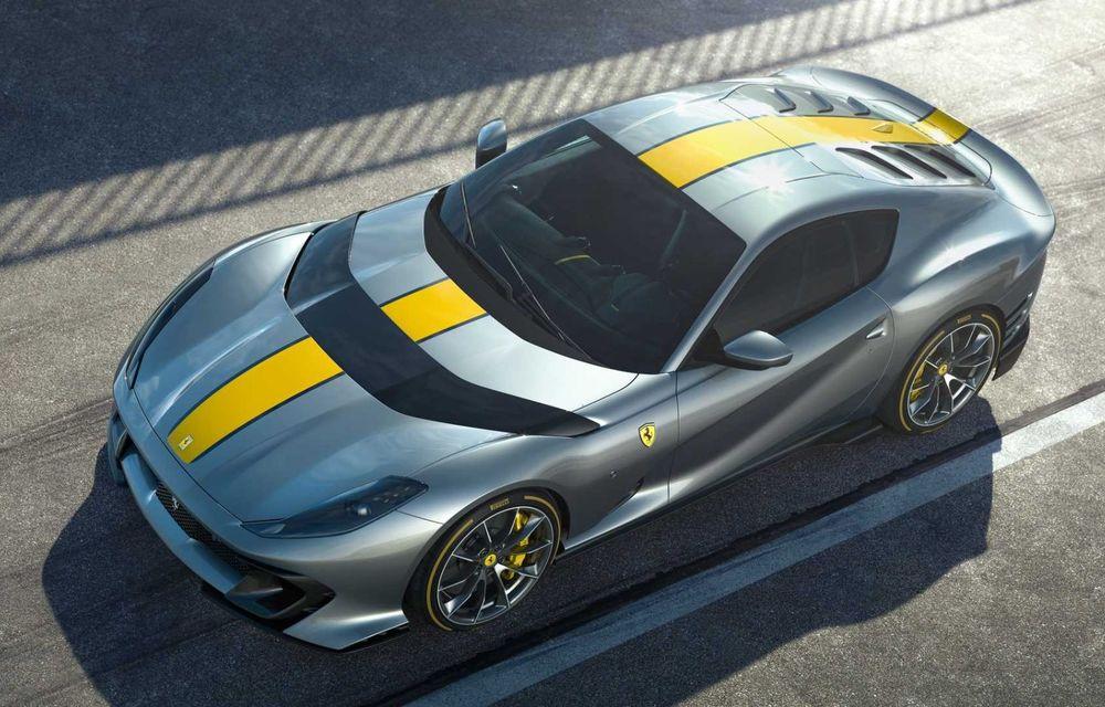 Primele informații și imagini cu Ferrari 812 Versione Speciale. Debutează în 5 mai - Poza 2