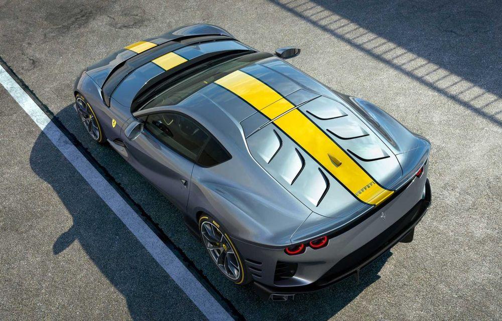 Primele informații și imagini cu Ferrari 812 Versione Speciale. Debutează în 5 mai - Poza 4