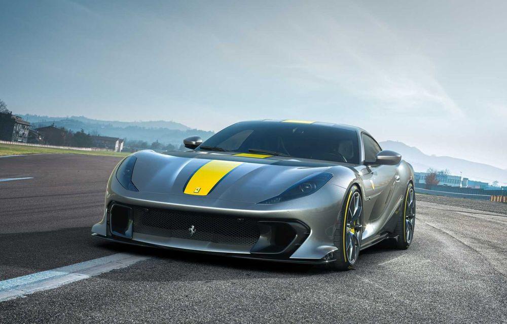 Primele informații și imagini cu Ferrari 812 Versione Speciale. Debutează în 5 mai - Poza 1