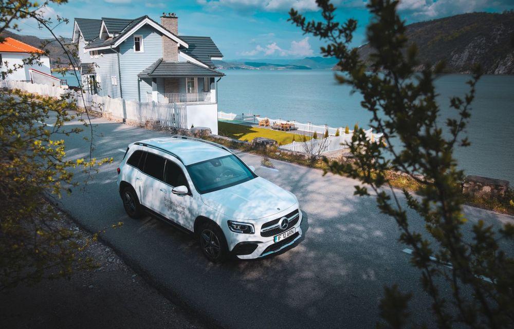 Descoperim Dunărea cu Mercedes-Benz GLB (ziua 1): Chipul lui Decebal sculptat în piatră și un hotel ca în Maldive - Poza 28
