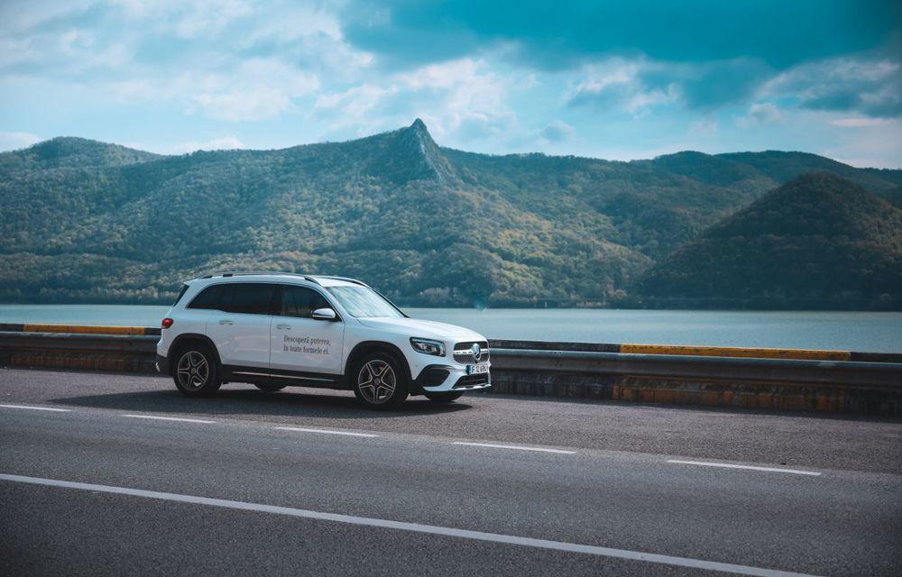 Descoperim Dunărea cu Mercedes-Benz GLB (ziua 1): Chipul lui Decebal sculptat în piatră și un hotel ca în Maldive - Poza 29