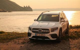 Descoperim Dunărea cu Mercedes-Benz GLB (ziua 1): Chipul lui Decebal sculptat în piatră și un hotel ca în Maldive