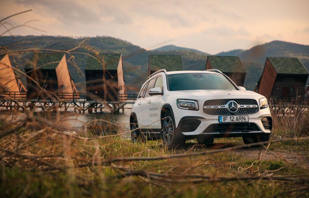 Descoperim Dunărea cu Mercedes-Benz GLB (ziua 1): Chipul lui Decebal sculptat în piatră și un hotel ca în Maldive - Poza 15