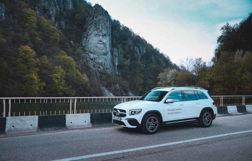 Descoperim Dunărea cu Mercedes-Benz GLB (ziua 1): Chipul lui Decebal sculptat în piatră și un hotel ca în Maldive - Poza 27