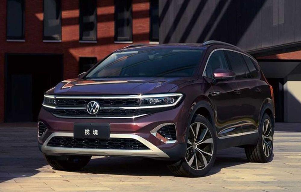 Volkswagen Talagon: cel mai mare SUV din portofoliul nemților, comercializat doar în China - Poza 1