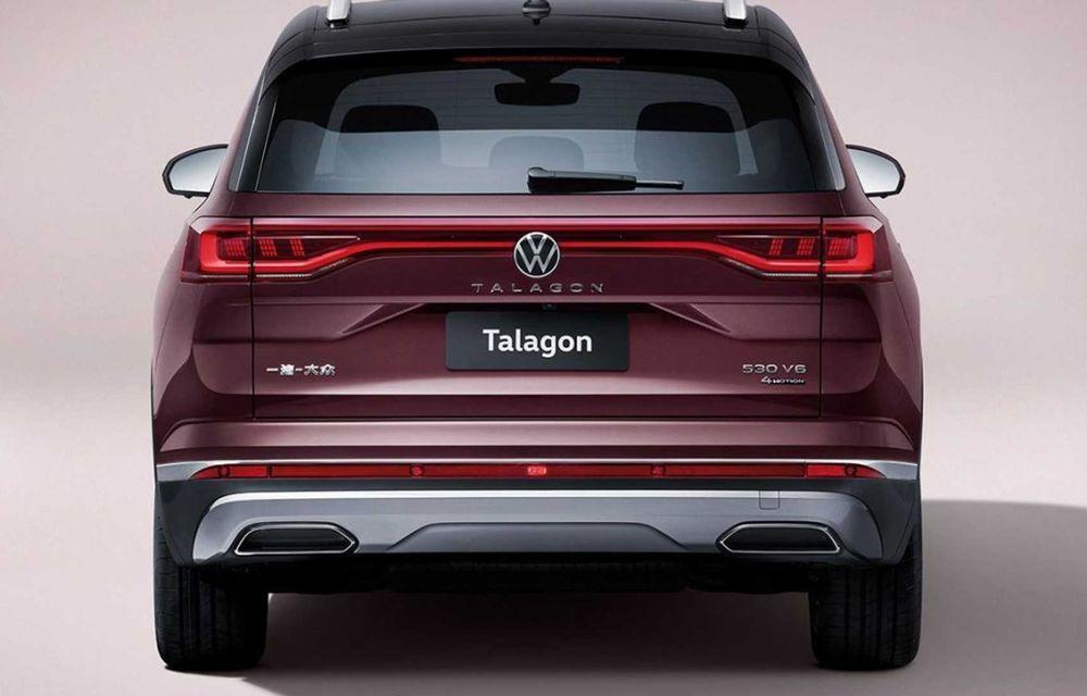 Volkswagen Talagon: cel mai mare SUV din portofoliul nemților, comercializat doar în China - Poza 4
