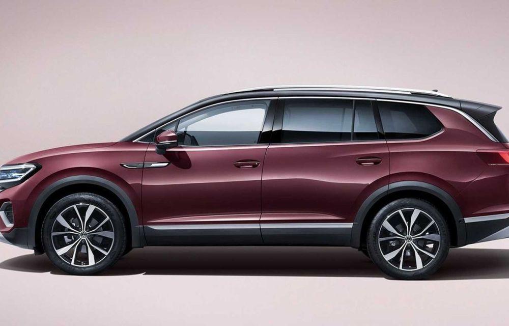 Volkswagen Talagon: cel mai mare SUV din portofoliul nemților, comercializat doar în China - Poza 5