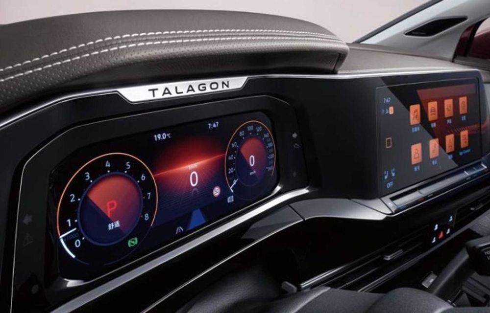 Volkswagen Talagon: cel mai mare SUV din portofoliul nemților, comercializat doar în China - Poza 10
