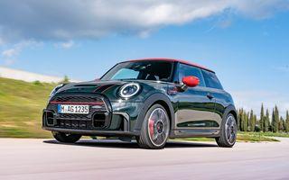 Prețuri Mini John Cooper Works facelift în România: varianta cu 3 uși pornește de la 33.558 euro