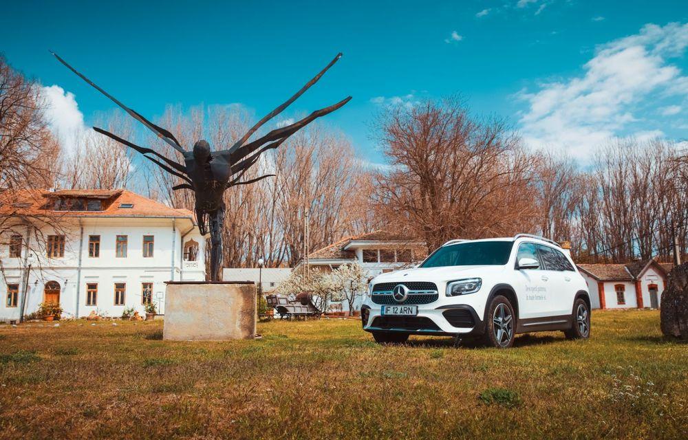 Descoperim Dunărea cu Mercedes-Benz GLB (ziua 2): am fost acasă la Mircea Dinescu și am vizitat podul Noua Europa - Poza 2