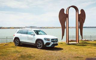 Descoperim Dunărea cu Mercedes-Benz GLB (ziua 2): am fost acasă la Mircea Dinescu și am vizitat podul Noua Europa