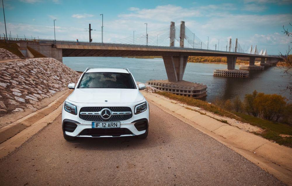 Descoperim Dunărea cu Mercedes-Benz GLB (ziua 2): am fost acasă la Mircea Dinescu și am vizitat podul Noua Europa - Poza 12