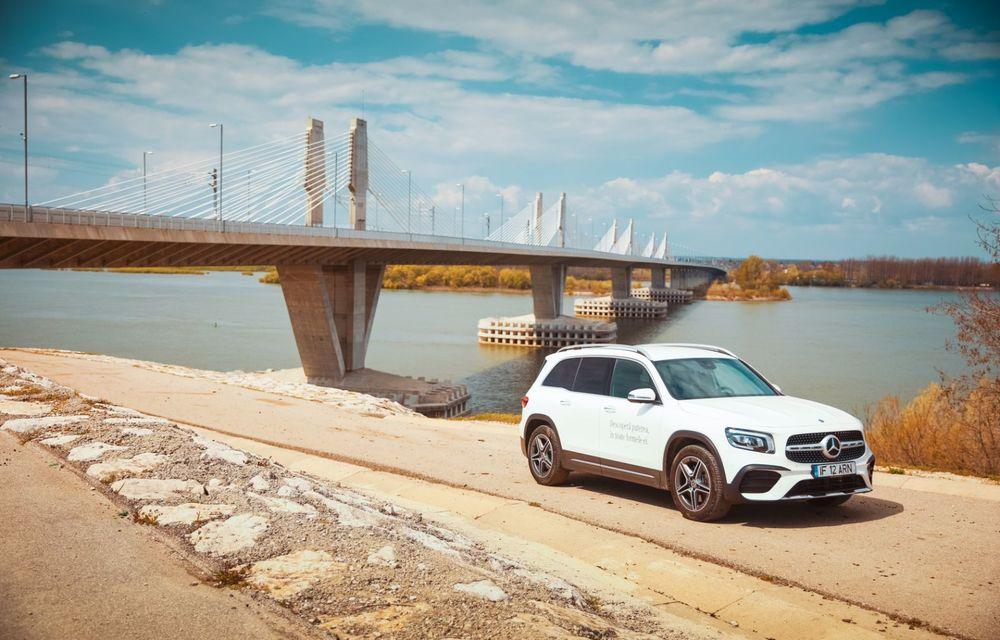 Descoperim Dunărea cu Mercedes-Benz GLB (ziua 2): am fost acasă la Mircea Dinescu și am vizitat podul Noua Europa - Poza 11
