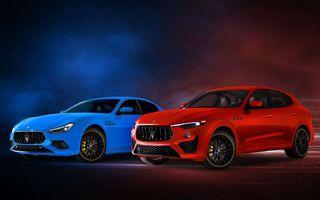 Maserati prezintă ediția specială F Tributo pentru Ghibli și Levante