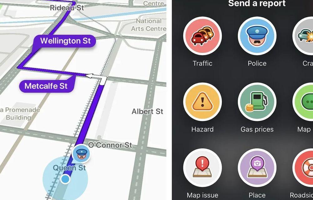 Autoritățile franceze vor să interzică, în anumite cazuri, raportarea poliției în trafic pe aplicații ca Waze - Poza 1