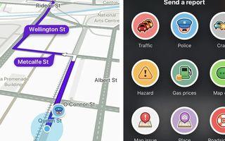 Autoritățile franceze vor să interzică, în anumite cazuri, raportarea poliției în trafic pe aplicații ca Waze