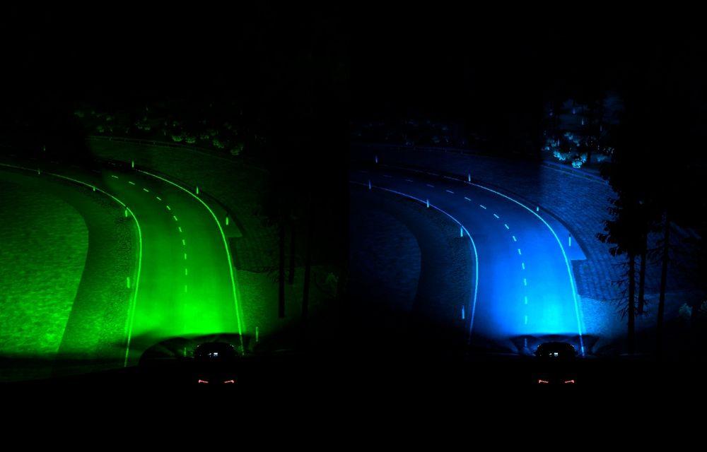 Ford: faruri inteligente care se folosesc de localizarea mașinii pentru ști cum să ilumineze drumul - Poza 1