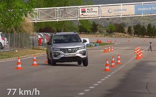 VIDEO: Rezultat surprinzător pentru Dacia Spring la testul elanului. A performat mai bine ca Honda E și Tesla Model X
