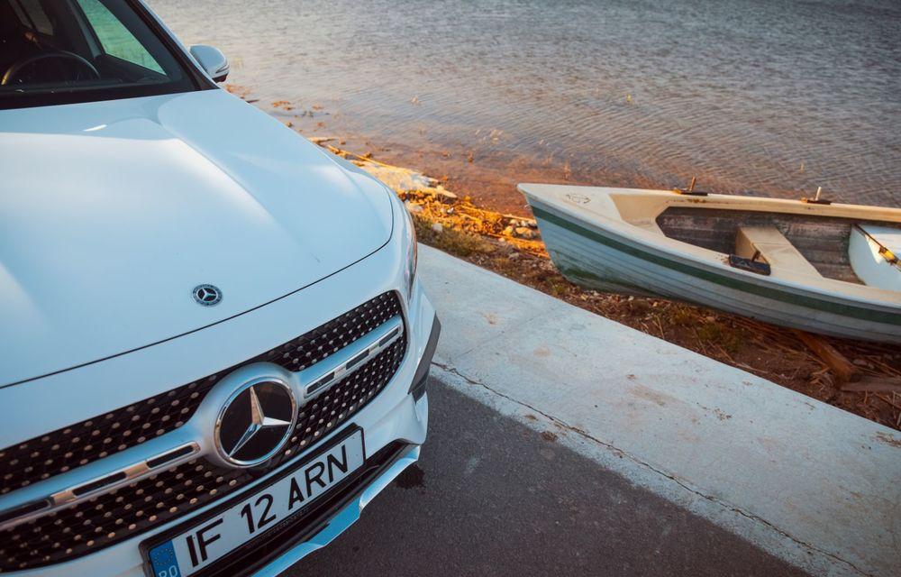 Descoperim Dunărea cu Mercedes-Benz GLB (ultima zi): vizită într-un sat pescăresc și miracolul Deltei - Poza 14