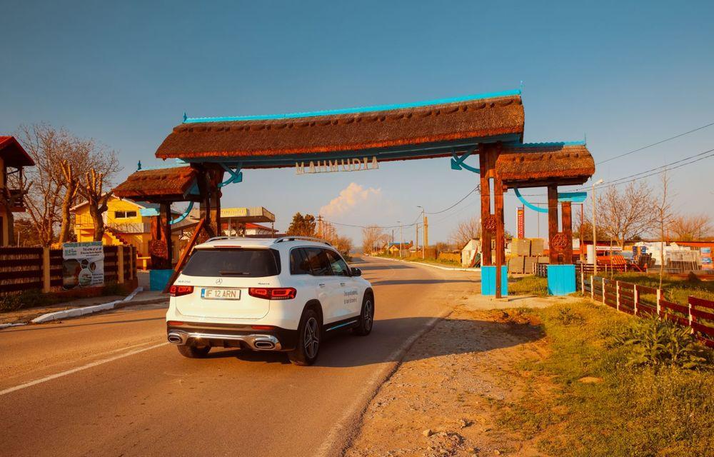 Descoperim Dunărea cu Mercedes-Benz GLB (ultima zi): vizită într-un sat pescăresc și miracolul Deltei - Poza 9