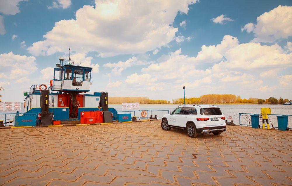 Descoperim Dunărea cu Mercedes-Benz GLB (ultima zi): vizită într-un sat pescăresc și miracolul Deltei - Poza 4