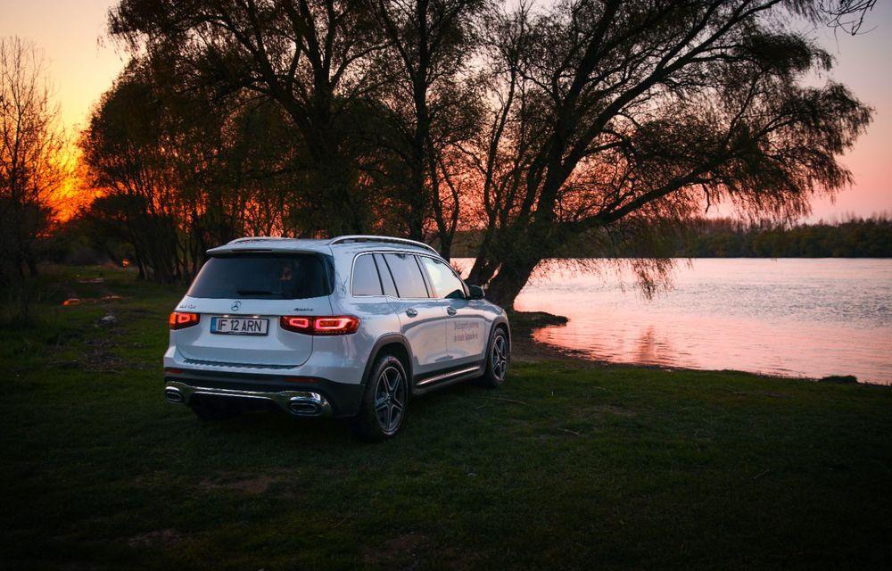 Descoperim Dunărea cu Mercedes-Benz GLB (ultima zi): vizită într-un sat pescăresc și miracolul Deltei - Poza 25