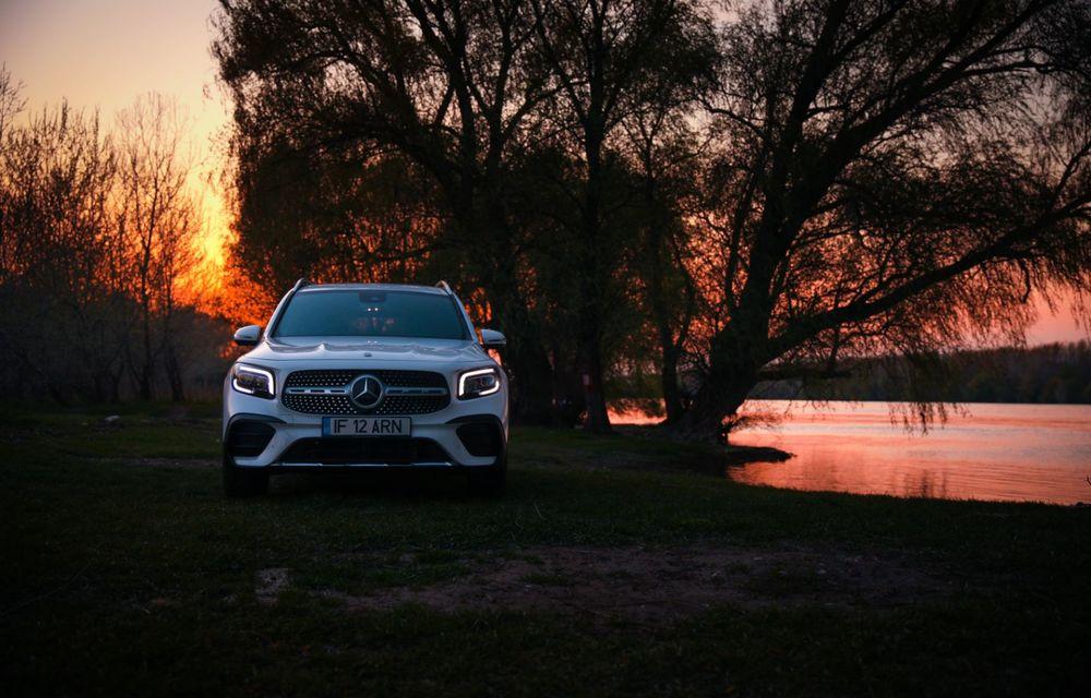 Descoperim Dunărea cu Mercedes-Benz GLB (ultima zi): vizită într-un sat pescăresc și miracolul Deltei - Poza 24