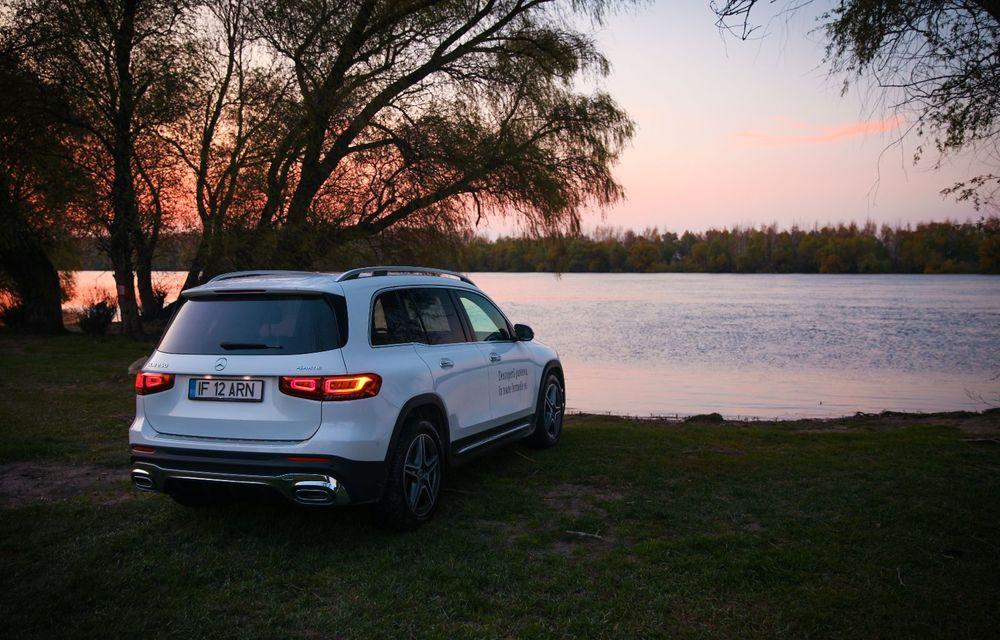 Descoperim Dunărea cu Mercedes-Benz GLB (ultima zi): vizită într-un sat pescăresc și miracolul Deltei - Poza 30