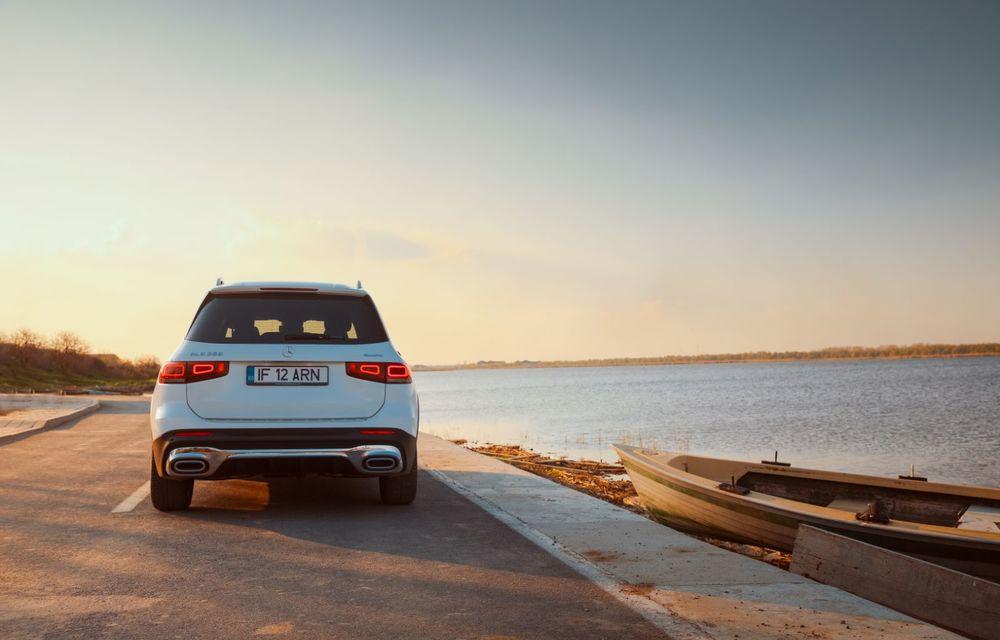 Descoperim Dunărea cu Mercedes-Benz GLB (ultima zi): vizită într-un sat pescăresc și miracolul Deltei - Poza 12