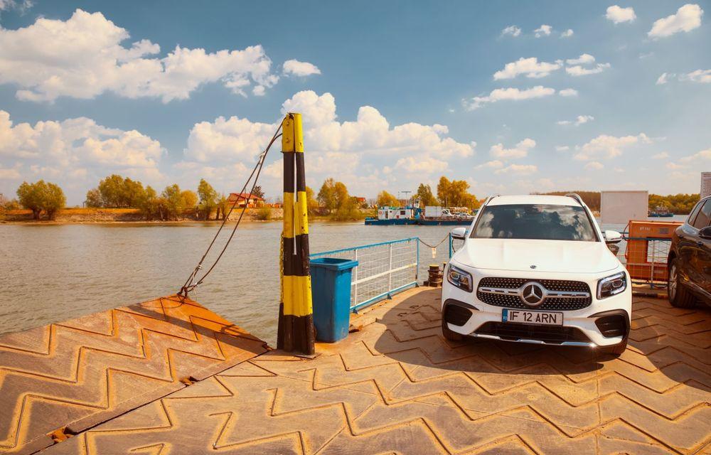Descoperim Dunărea cu Mercedes-Benz GLB (ultima zi): vizită într-un sat pescăresc și miracolul Deltei - Poza 3