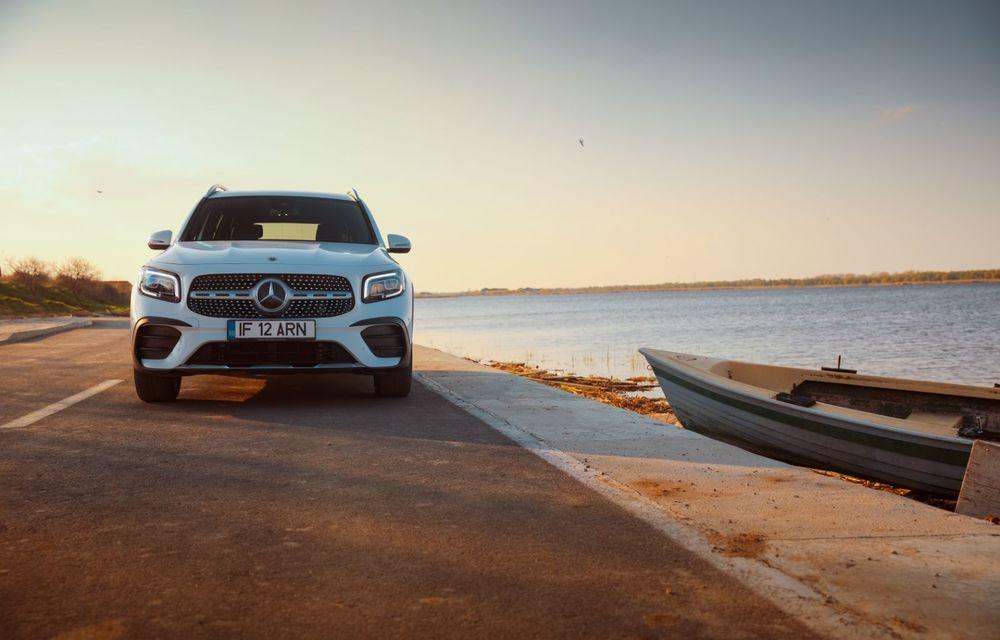 Descoperim Dunărea cu Mercedes-Benz GLB (ultima zi): vizită într-un sat pescăresc și miracolul Deltei - Poza 11