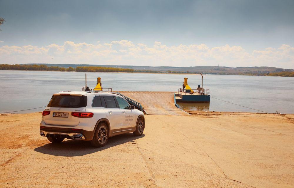 Descoperim Dunărea cu Mercedes-Benz GLB (ultima zi): vizită într-un sat pescăresc și miracolul Deltei - Poza 5