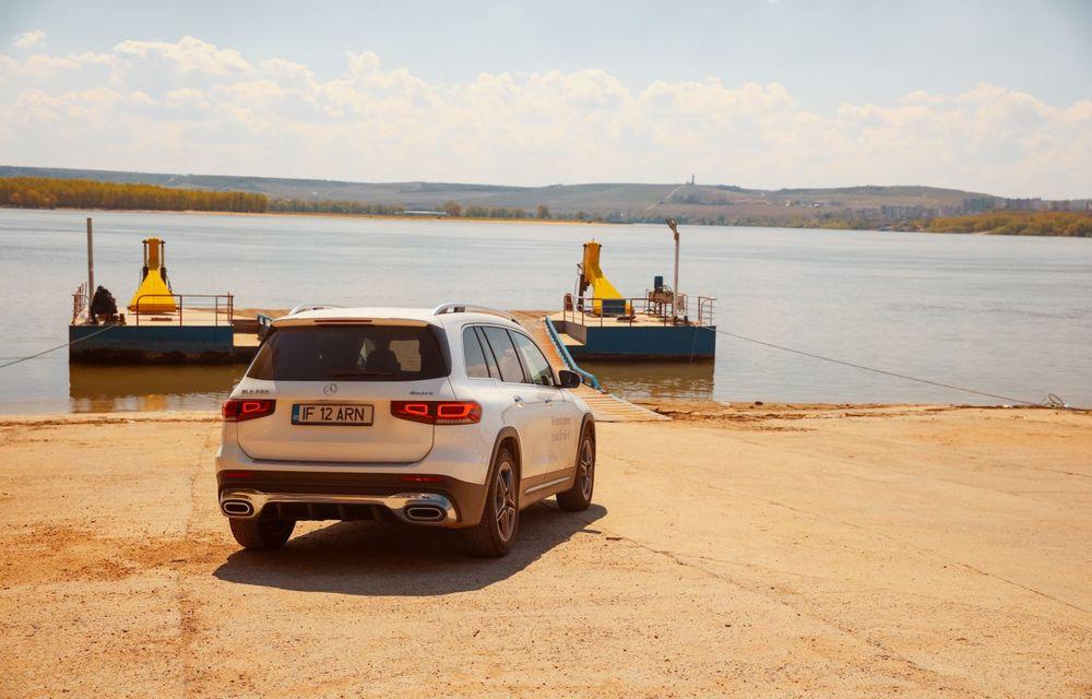 Descoperim Dunărea cu Mercedes-Benz GLB (ultima zi): vizită într-un sat pescăresc și miracolul Deltei - Poza 2