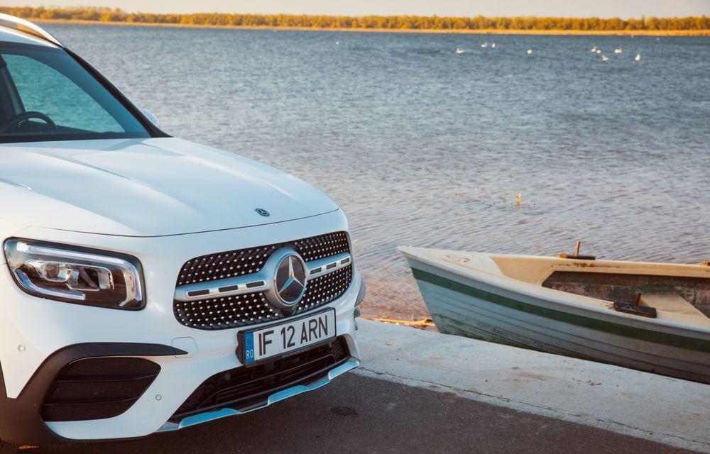 Descoperim Dunărea cu Mercedes-Benz GLB (ultima zi): vizită într-un sat pescăresc și miracolul Deltei - Poza 16