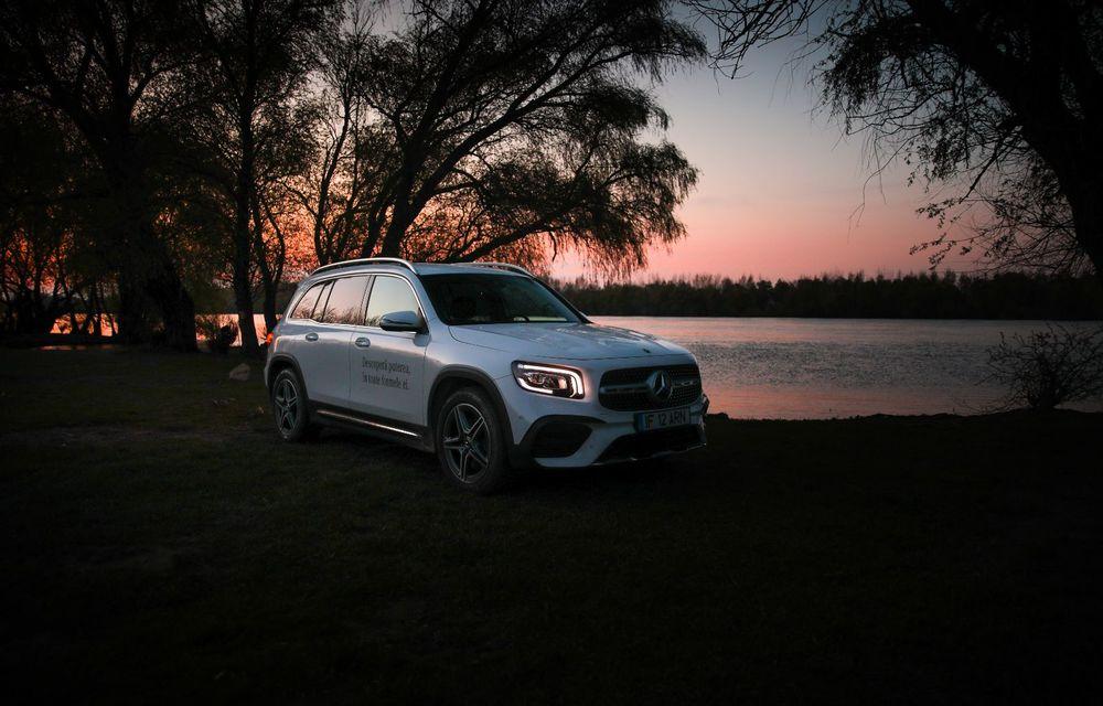 Descoperim Dunărea cu Mercedes-Benz GLB (ultima zi): vizită într-un sat pescăresc și miracolul Deltei - Poza 29