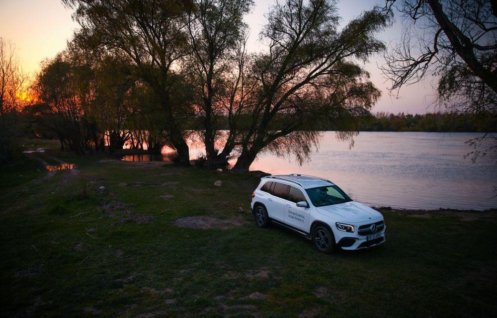 Descoperim Dunărea cu Mercedes-Benz GLB (ultima zi): vizită într-un sat pescăresc și miracolul Deltei - Poza 31